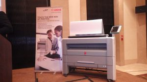 Oce' & Canon 's Wide Format Printing Systems (WFPS) & Large Format Printers (LFPs)