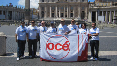 IOS's Sales Incentive Trip in Rome-Italy